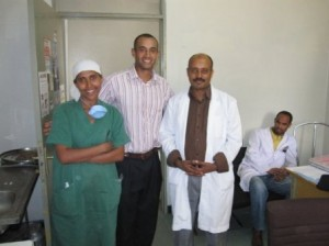 Members of the Medical Staff at the Adama Hospital
