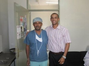 Surgeon at the Adama Hospital